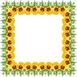 viola Die Blumenverzierung E Stock Abbildung