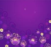 Viola lussuosa Fotografie Stock Libere da Diritti