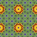 viola Nahtloses Muster für Hintergrund, Tapeten Stock Abbildung