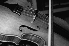 Viola. An old but beautiful Juzek viola Stock Images