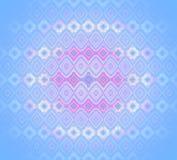 Viola porpora beige rosa blu-chiaro del modello regolare senza cuciture del diamante Immagini Stock