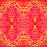 Viola rosa gialla arancio rossa del modello ornamentale regolare illustrazione vettoriale