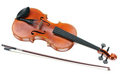 Viola stringed musical instrument Stock Photography