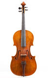 Viola. The upper deck of the italian viola Royalty Free Stock Images