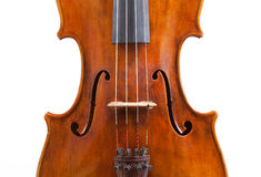 Viola. The upper deck of the italian viola Royalty Free Stock Image