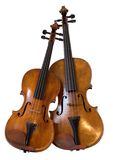 Viola and violin Royalty Free Stock Images