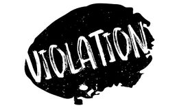 Violation rubber stamp Royalty Free Stock Photo