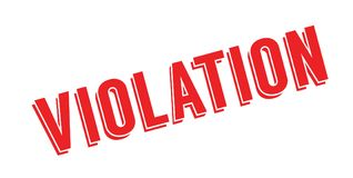 Violation rubber stamp Royalty Free Stock Photos