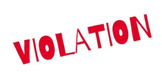 Violation rubber stamp Stock Photos