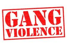 VIOLENCE DE BANDE Illustration Stock