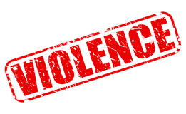 Violence red stamp text Stock Image