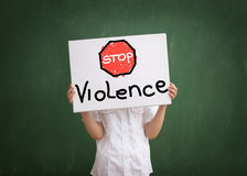 Violence in today's schools Royalty Free Stock Image