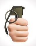 Violent acts. Grenade - Violent criminal acts concept Royalty Free Stock Photos