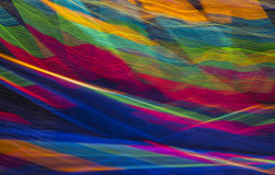 Violent colors. Colorfull abstract interwoven line pattern Royalty Free Stock Photo