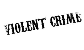 Violent Crime rubber stamp Stock Photography