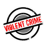 Violent Crime rubber stamp Royalty Free Stock Photo