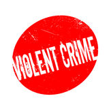Violent Crime rubber stamp Stock Photos