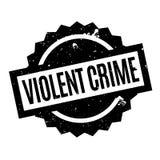 Violent Crime rubber stamp Royalty Free Stock Images