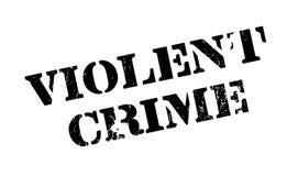 Violent Crime rubber stamp Stock Images