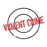 Violent Crime rubber stamp Royalty Free Stock Photography