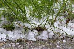 Violent, dangerous storm with hail. A violent, dangerous storm with hail Stock Photo