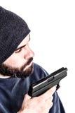 Violent guy Stock Images