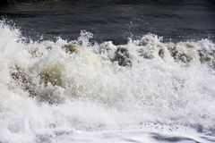 Violent looking sea wave Spain Royalty Free Stock Images