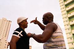 Violent People Arguing And Fighting For Drugs Crime And Violence Stock Photos