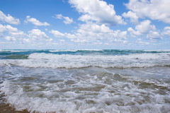 Violent Waves Royalty Free Stock Photos