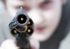 Violenza Fotografia Stock Libera da Diritti