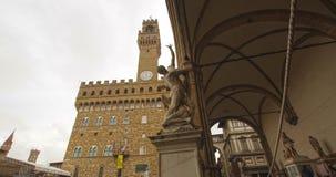 Violenza della Sabine, Firenze, lasso di tempo stock footage