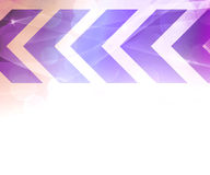 Violet Abstract Arrows Background Royalty Free Stock Image