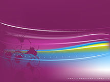 Violet abstract background Stock Images