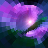 Violet abstract circle tiled vector background Royalty Free Stock Image