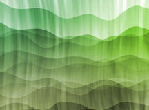 Green abstract contemporary background Stock Images