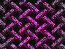 Violet abstract diagonal structure pattern Royalty Free Stock Photo