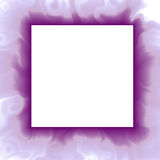 Violet abstract frame background. Digitally rendered vector illustration