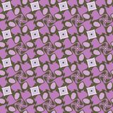 Violet abstract  geometric pattern, background, vector seamless. Unusual and simple abstract geometric pattern, vector seamless from abstract forms in violet Royalty Free Stock Images