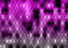 Violet Abstract Polygons Background illustrazione vettoriale