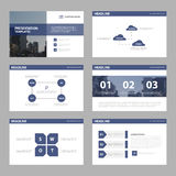 Violet Abstract presentation templates, Infographic elements template flat design set Stock Image