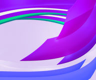 Violet Abstract Shapes Background Royalty Free Stock Images