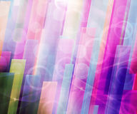 Violet Abstract Smoke Background Stock Photography