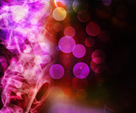 Violet Abstract Smoke Background Stock Image
