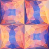 Violet Abstract Triangular Backgrounds rose Illustration Libre de Droits