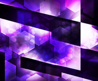 Violet Abstraction Background escura ilustração do vetor