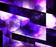 Violet Abstraction Background oscura Ilustración del Vector
