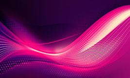 Violet amazing waves background Royalty Free Stock Photo
