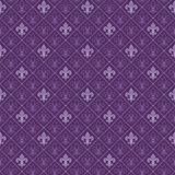 Violet antique seamless wallpaper Stock Photo