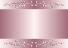 Violet background. Violet metallic background with floral ornaments Royalty Free Stock Photos