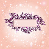Violet background banner style Stock Photos